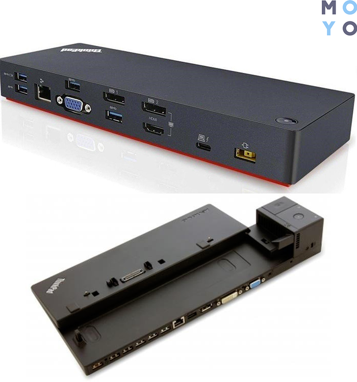 Док-станции Lenovo ThinkPad Thunderbolt 3 Dock и Pro Dock - 90W EU