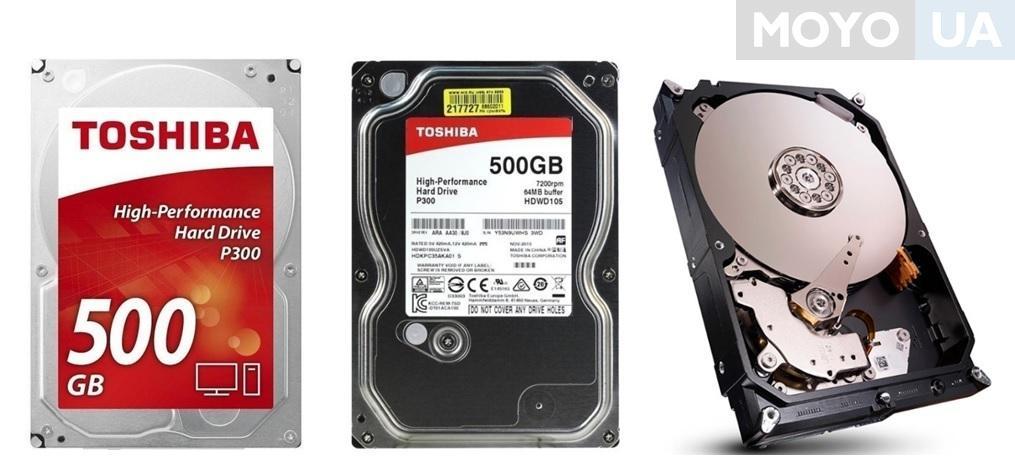 Внутренний жесткий диск TOSHIBA SATA 500GB 7200RPM 6GB/S/64MB HDWD105UZSVA
