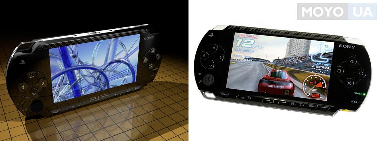 Первая мобильная консоль PlayStation Portable