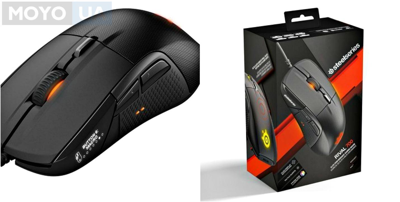Игровая мышь SteelSeries Rival 700