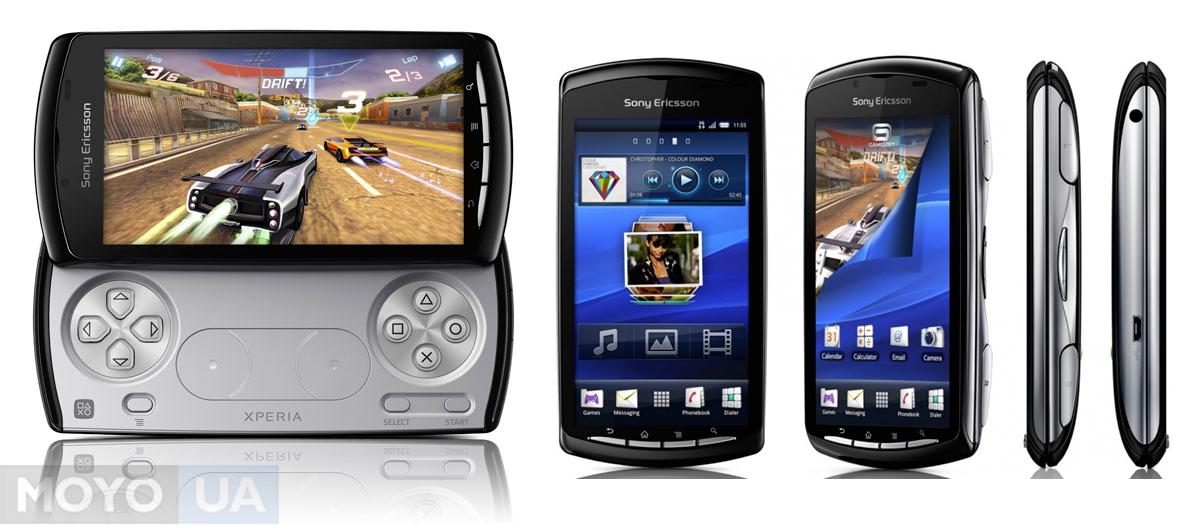 Телефон и консоль в одном устройстве