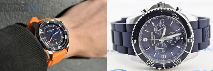 Наручные часы с каучуковым ремешком