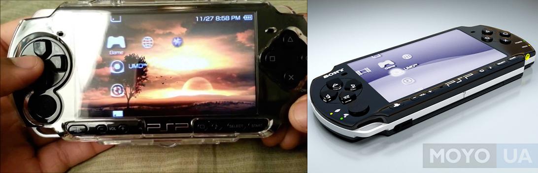 Популярное во всем мире устройство PSP-3000