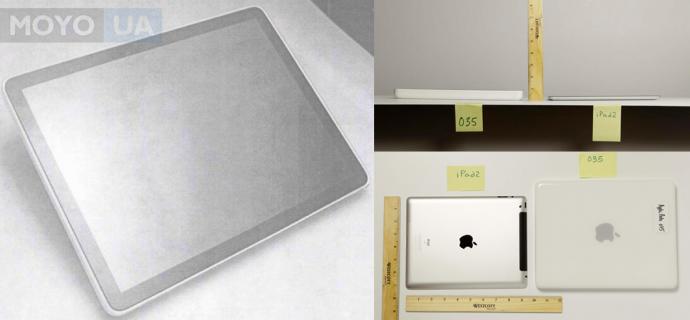 Первые фото прототипа современного iPad