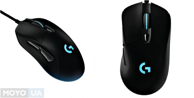 Игровая мышь Logitech G403 Prodigy USB Black