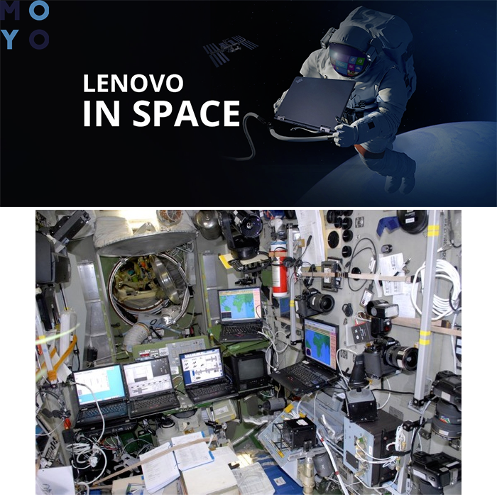 ThinkPad в космосе