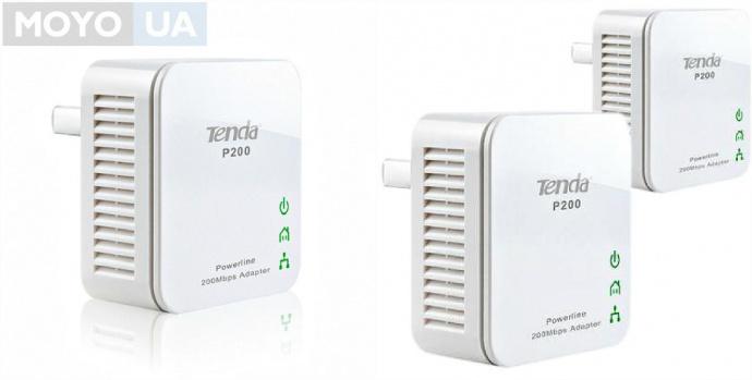 Powerline-адаптер Tenda P200-KIT