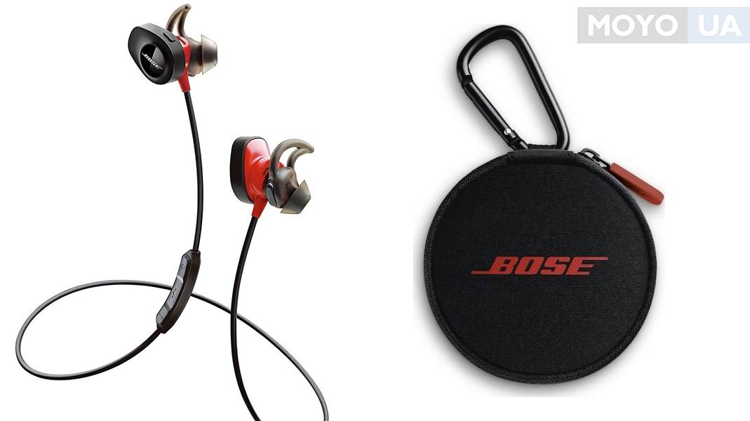 крутые беспроводные наушники для спортсменов BOSE SoundSport Pulse