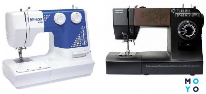 Электромеханические швейные машинки