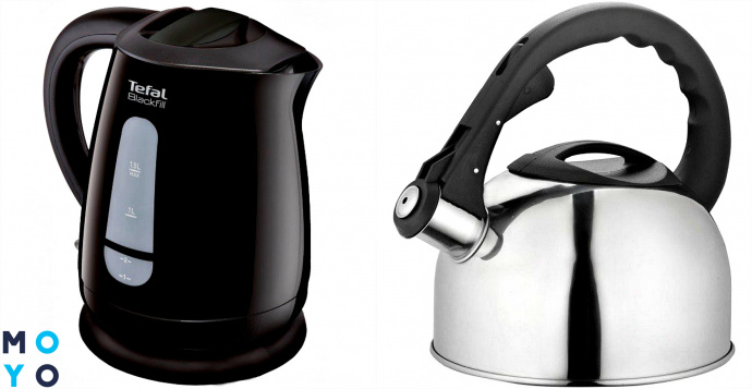 Какой чайник лучше: электрический или обычный
