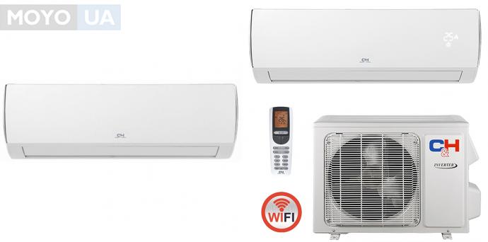 CH-S12FTXQ — Сплит-система со встроенным модулем Wi-Fi