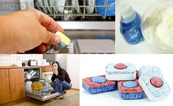 Разнообразие средств для посудомоечной машины