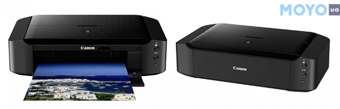 PIXMA iP8740 с вай-фай умеет печатать фотографии