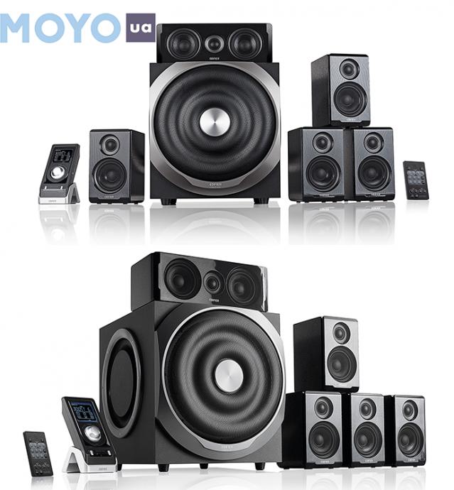 многоканальный комплект с пятью сателлитами и сабом Edifier S550 Encore