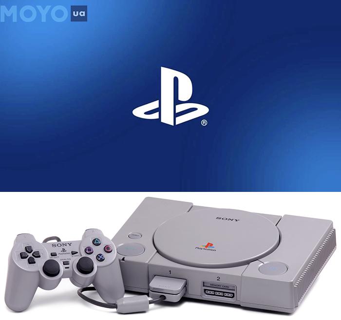 SONY PLAYSTATION — узнаваемый и один из любимых брендов геймеров с 1995 года
