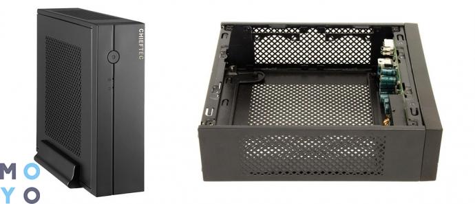 дешевый корпус для игрового ПК начального уровня CHIEFTEC Compact IX-01B (IX-01B-OP)