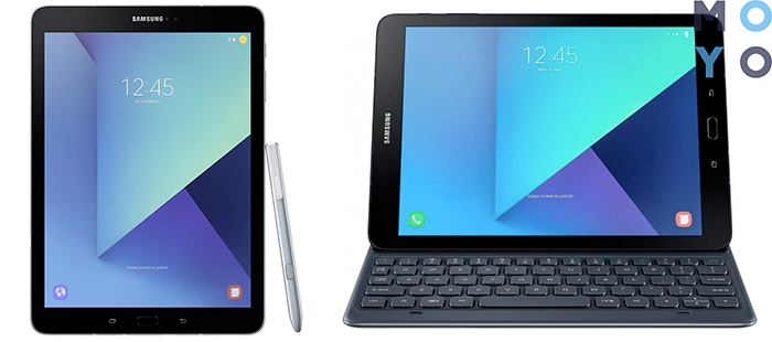 планшет Samsung Galaxy Tab S3 WiFi с док станцией-клавиатурой в комплекте