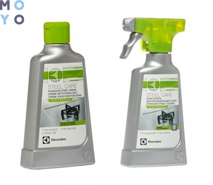 специальные чистящие средства для плит из нержавейки крем и спрей E6SCC106