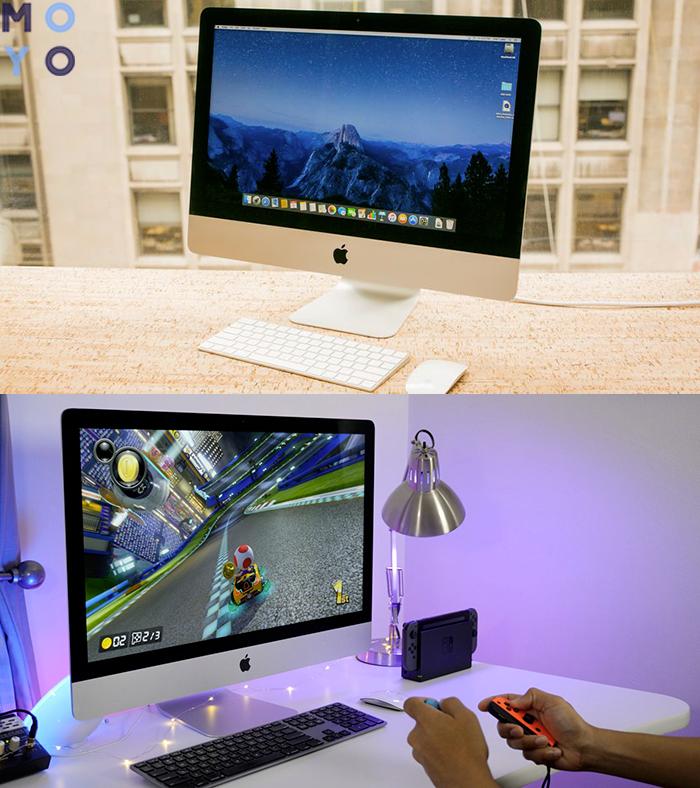 iMac в интерьере