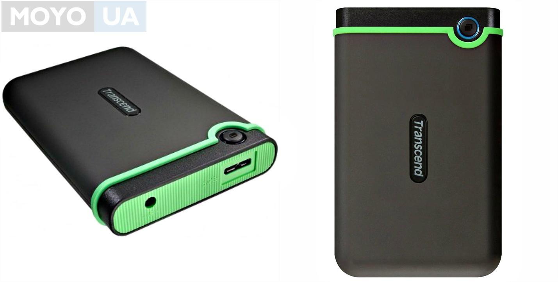 """Внешний HDD TRANSCEND 2.5"""" USB3.0 StoreJet, серия M3, 1TB"""