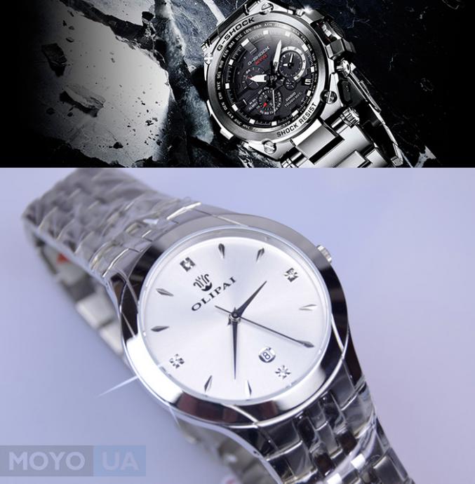 Наручные часы с сапфировым стеклом