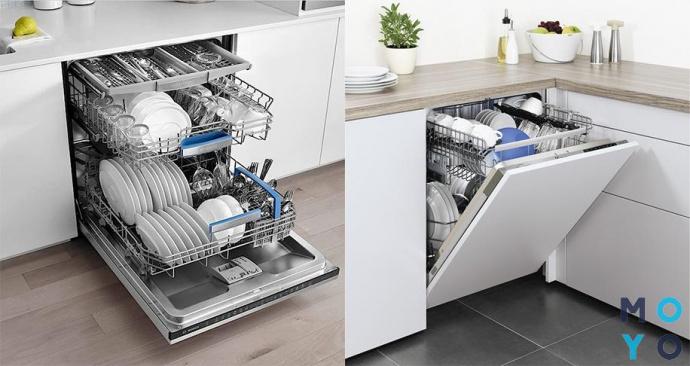 Посудомоечные машины в интерьере