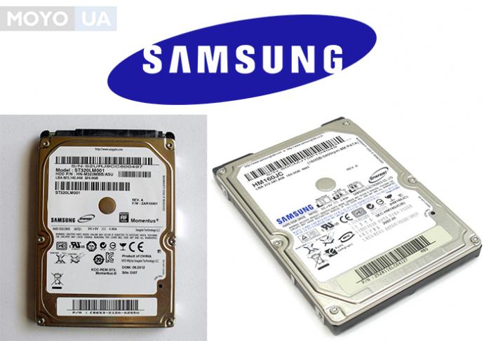 жесткие диски SAMSUNG