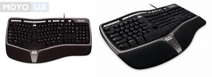 Клавиатура Microsoft Natural Ergo 4000