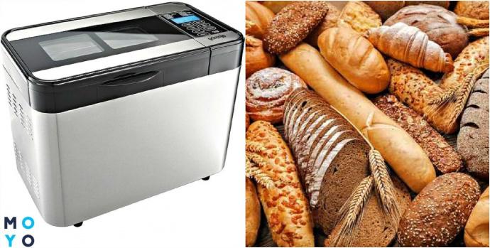 Хлебопечка и хлебобулочные изделия