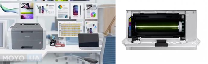 лазерный и светодиодный принтеры