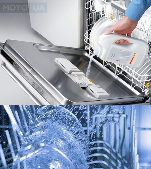 Кондиционер для посудомойки — блестящий результат
