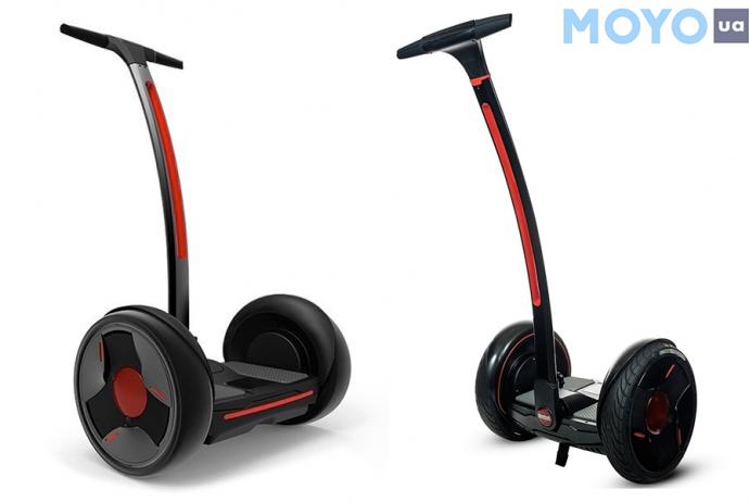 настоящий вездеход Ninebot by Segway E+ с большими колесами