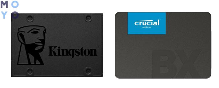 внутренние ссд диски SA400S37/120G и CT240BX500SSD1