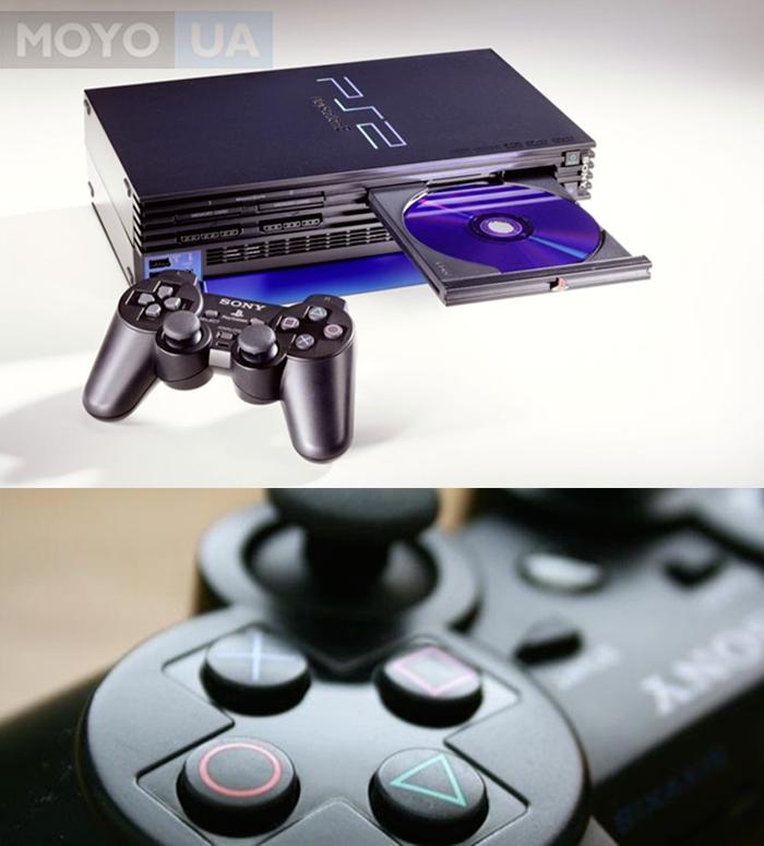 Новый геймпод PlayStation 2