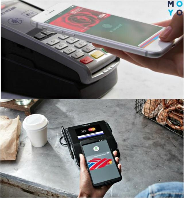 Бесконтактная оплата смартфоном