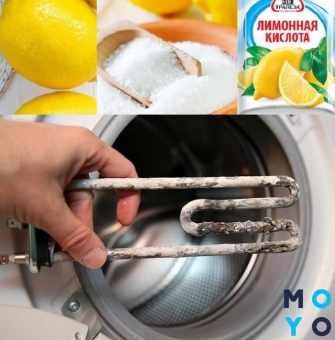 Профилактика накипи в стиральной машине