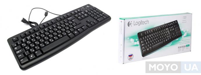 Клавиатура Logitech K120 USB OEM