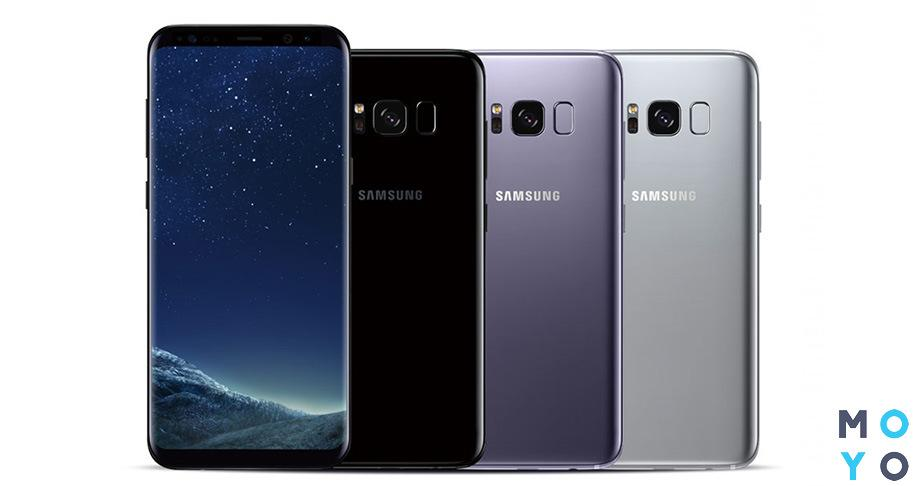 Цветовые решения Samsung Galaxy S8