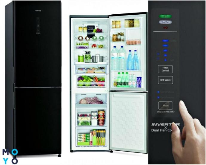 Холодильник Hitachi R-BG410PUC6XGBK