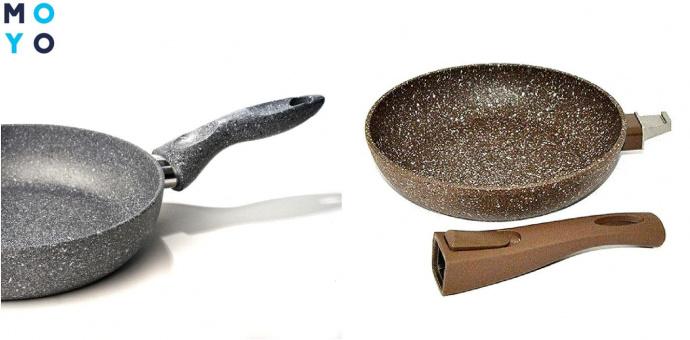 Ручки каменных сковородок