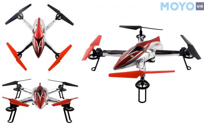 Для школьников: квадрокоптер WL Toys Q212G FPV Spaceship