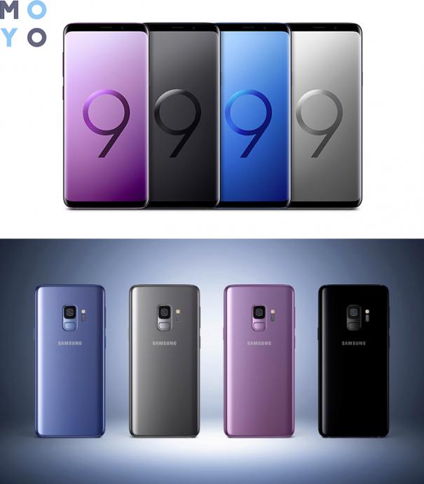 Samsung Galaxy S9 дизайн