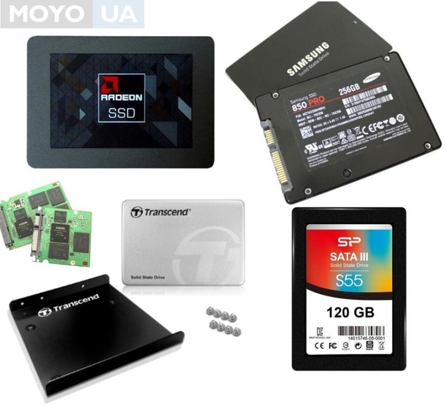 4 SSD-накопителя