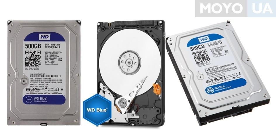 Внутренний жесткий диск WD 3.5 SATA 3.0 0.5TB 7200 rpm 32Mb Cache