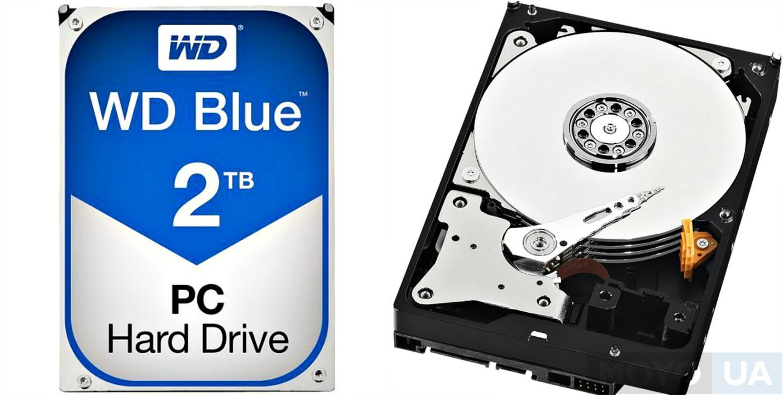 Жесткий диск WD 3.5 SATA 3.0 2TB 5400rpm 64MB Blue