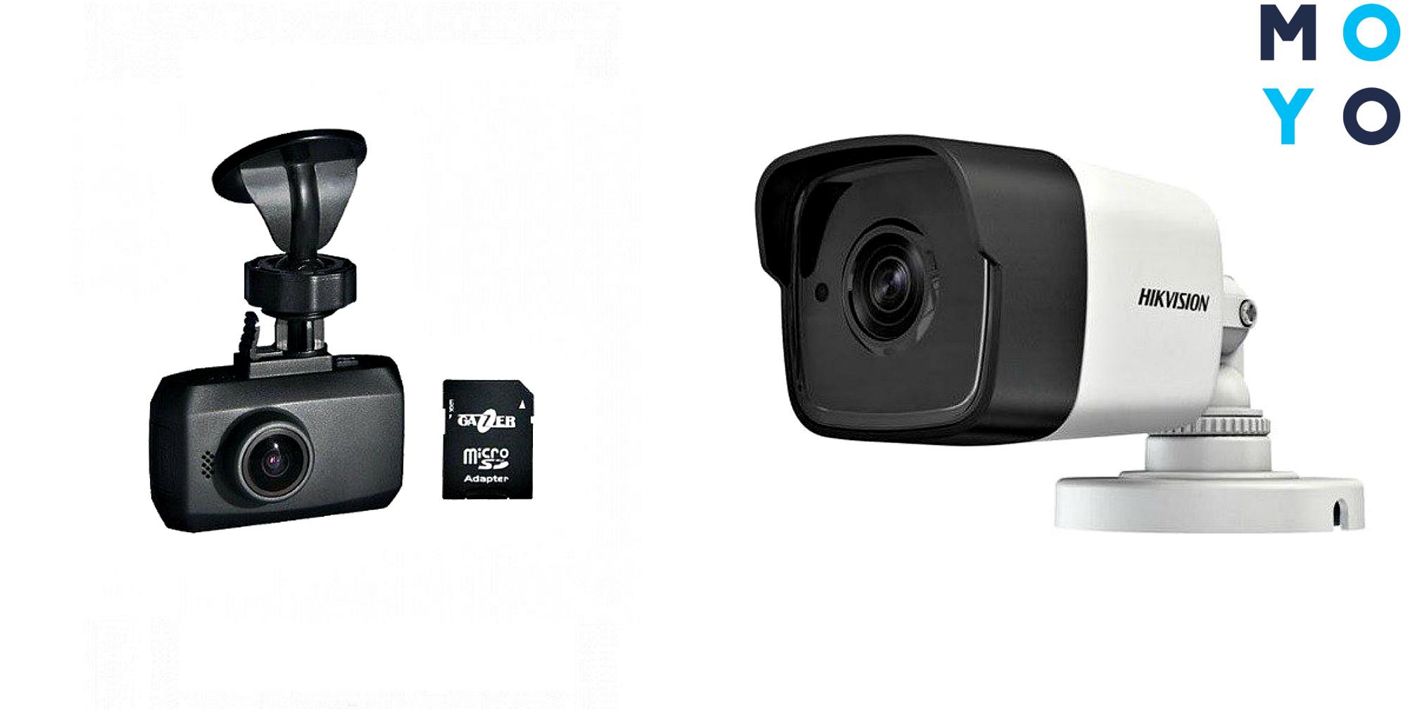 Видеорегистратор и видеокамера