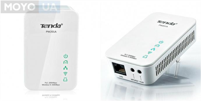 Powerline-адаптер Tenda PW201A