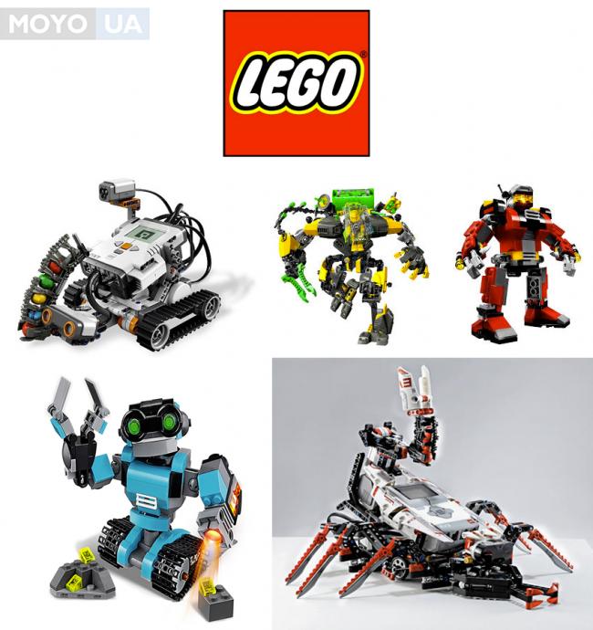 Потрясающие продукты LEGO