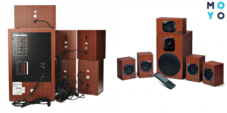 Акустическая система 5.1 Genius SW-HF 4800 Wood