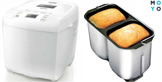 Хлебопечка и 2 хлеба